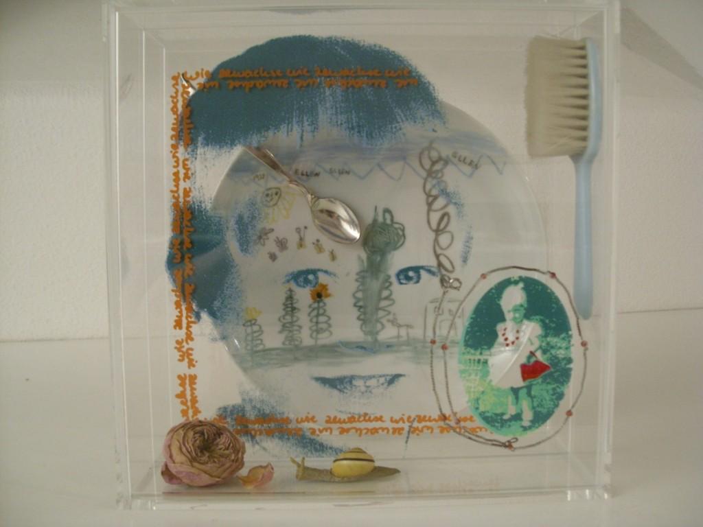 """Wegmarke """"Kleine Ellen"""", 25 x 25 x 10 cm"""