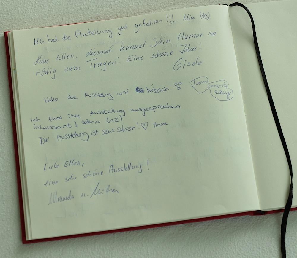 """Gästebucheinträge zu """"Naturverbunden"""" - da hüpft das Künstlerherz"""